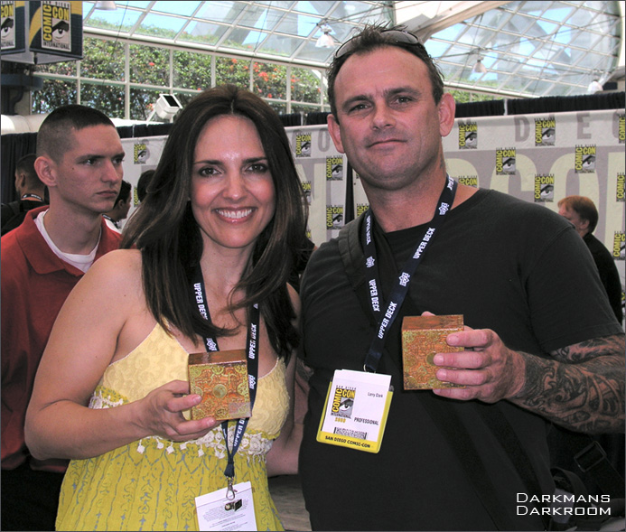 Ashley Laurence aka Kirsty Cotton