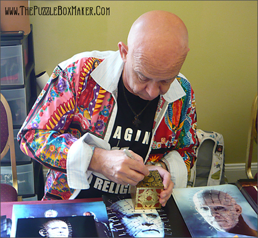 Doug Bradley aka Pinhead