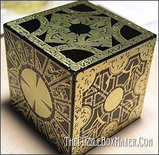 Black Hellraiser Puzzle Box