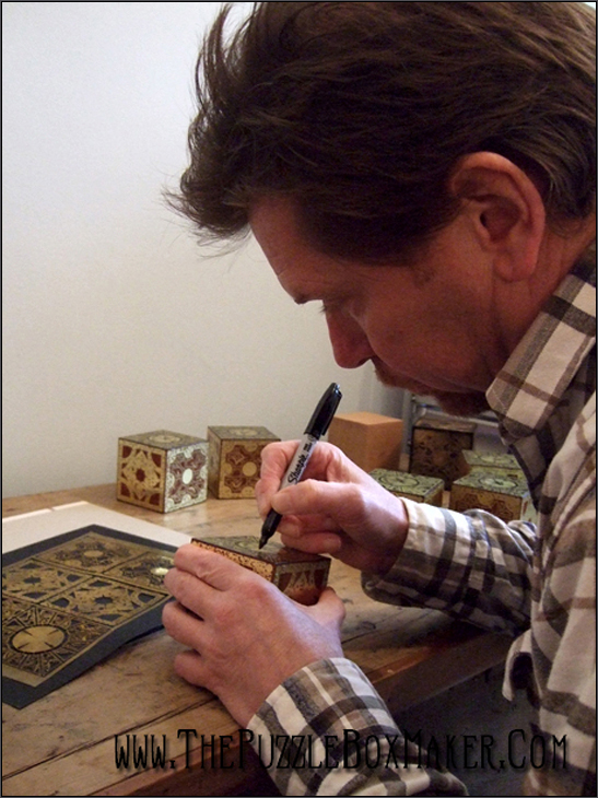 Simon Sayce Signed Hellraiser Puzzle Box
