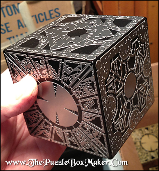 Stainless Steel Hellraiser Puzzle Box