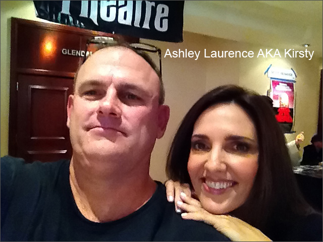 Ashley Laurence at Monsterpalooza