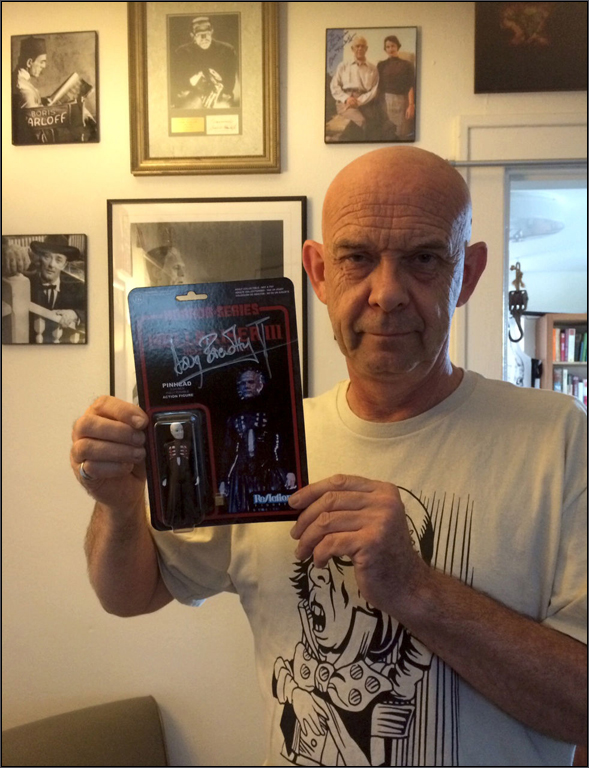 Doug Bradley Signed
