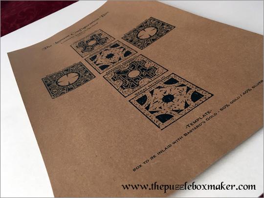 Hellraiser Puzzle Schematics