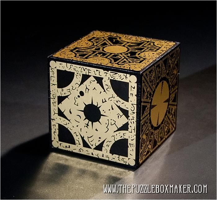 Hellraiser Foil Puzzle Box