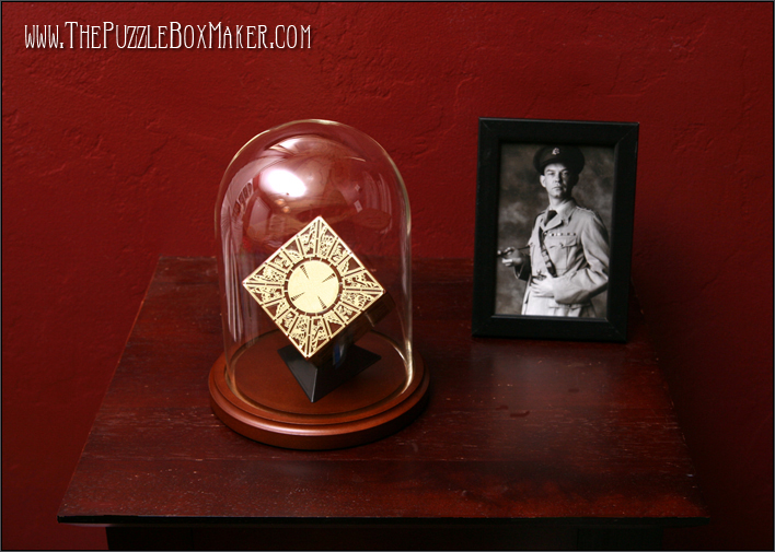 Glass Dome and Base for Hellraiser Puzzle Box